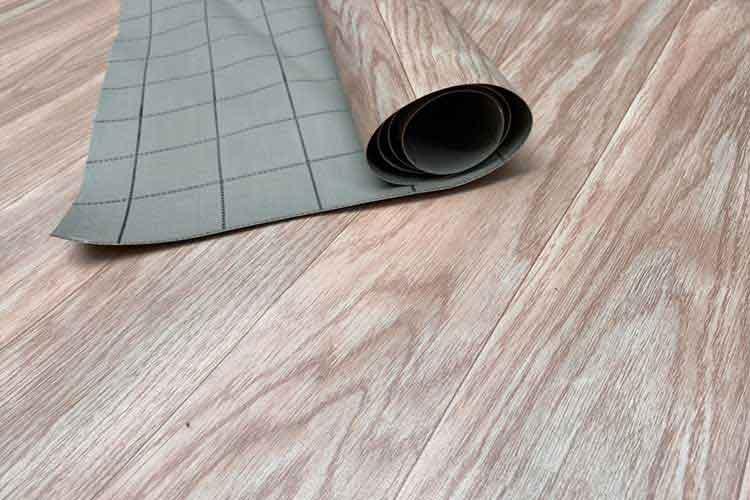 thảm nhựa simili trải sàn vân gỗ