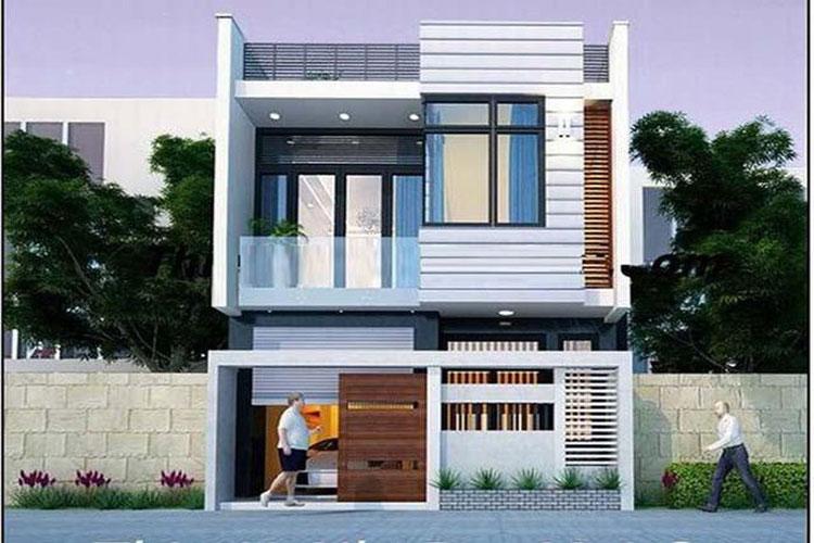 10 mẫu nhà 2 tầng đẹp với chi phí xây dựng chỉ 700 triệu-2