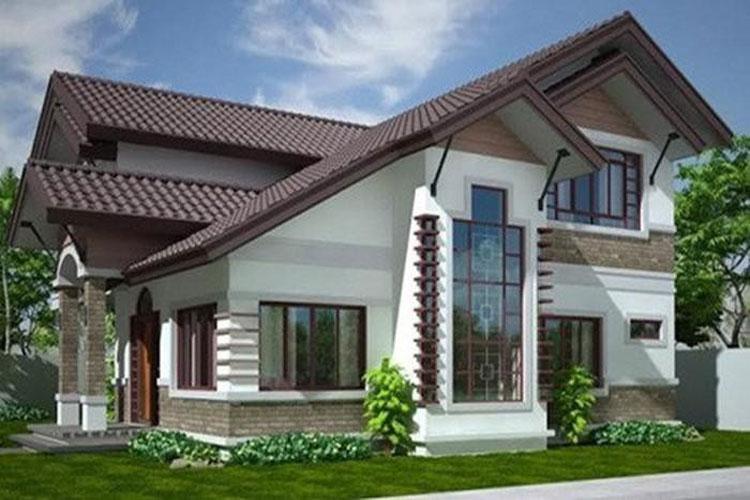 10 mẫu nhà 2 tầng đẹp với chi phí xây dựng chỉ 700 triệu-6