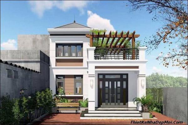10 mẫu nhà 2 tầng đẹp với chi phí xây dựng chỉ 700 triệu