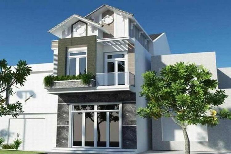 10 mẫu nhà 2 tầng đẹp với chi phí xây dựng chỉ 700 triệu-7