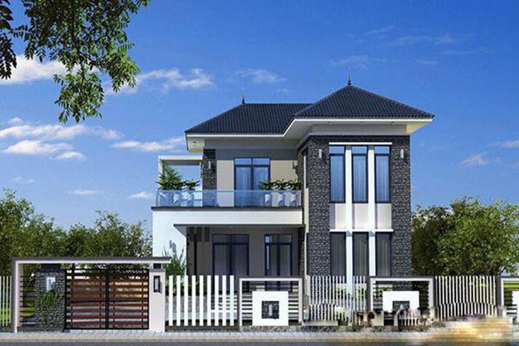 10 mẫu nhà 2 tầng đẹp với chi phí xây dựng chỉ 700 triệu-9
