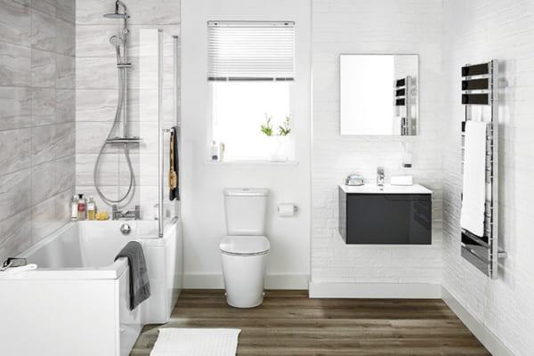 8 quy tắc thiết kế phòng tắm đẹp và tiết kiệm