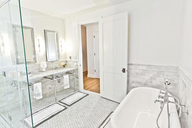 Cách cải thiện không gian phòng tắm không cửa sổ-2