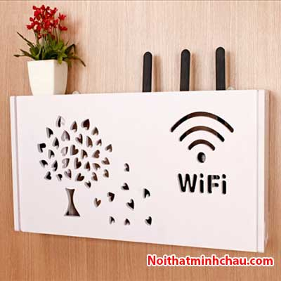 Hộp đựng modem Wifi hình cây MC03