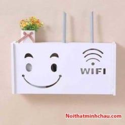 Hộp đựng modem Wifi hình mặt cười MC01