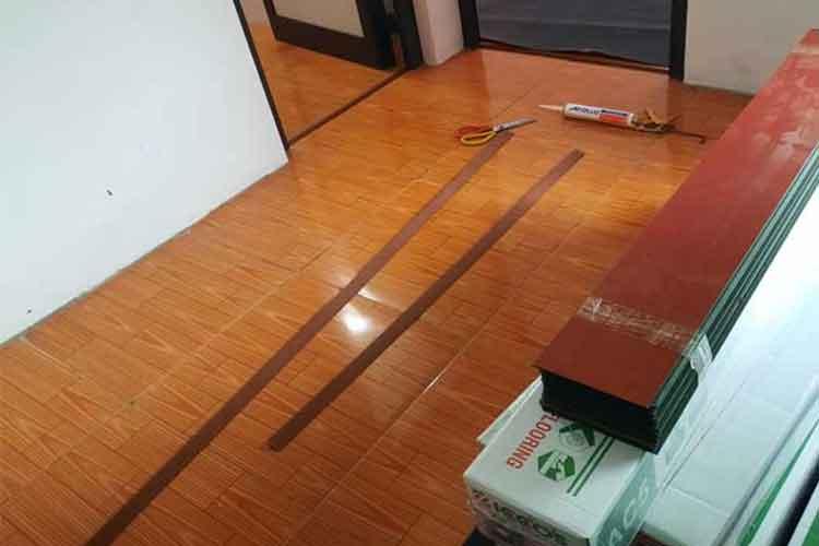 lắp đặt sàn gỗ công nghiệp ziccos z2 8mm tại phương trung thanh oai