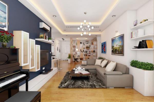 Mẫu bố trí nội thất chung cư hiện đại giúp tối ưu không gian