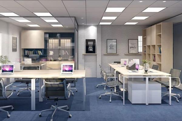 Cách bố trí nội thất văn phòng đẹp đang được tìm kiếm nhiều nhất