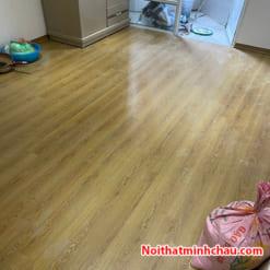 Sàn gỗ Thaipro TL205 12mm cốt xanh hoàn thiện