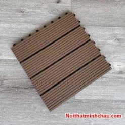 Vỉ gỗ nhựa composite MC01 màu cafe