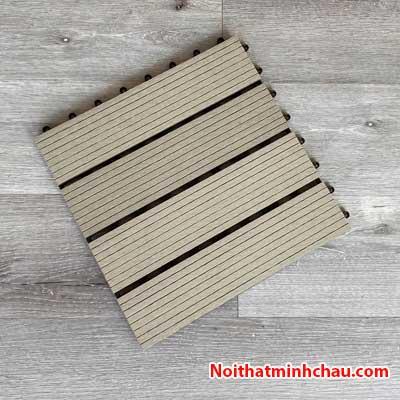 Vỉ gỗ nhựa composite MC04 màu xám