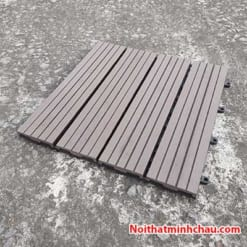 Vỉ gỗ nhựa composite MC11 màu cafe