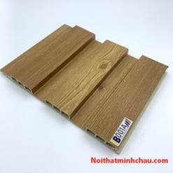 Lam nhựa giả gỗ ốp tường IBT Wall IB001A 3 sóng thấp