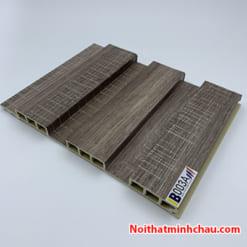 Lam nhựa giả gỗ ốp tường IBT Wall IB003A 3 sóng thấp