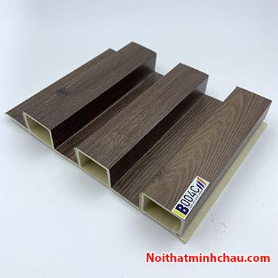 Lam nhựa giả gỗ ốp tường IBT Wall IB004C 3 sóng cao