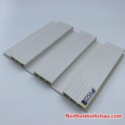 Lam nhựa giả gỗ ốp tường IBT Wall IB025A 3 sóng thấp