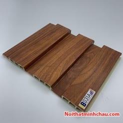 Lam nhựa giả gỗ ốp tường IBT Wall IB031A 3 sóng thấp