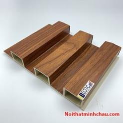 Lam nhựa giả gỗ ốp tường IBT Wall IB031C 3 sóng cao