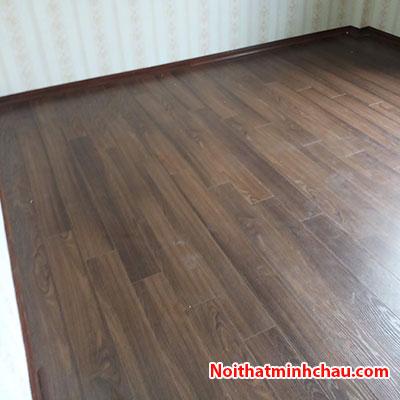 sàn gỗ winmart floor wm18 12mm hoàn thiện