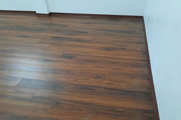 Hoàn thiện sàn gỗ Bandi D3488 cho phòng ngủ tại Văn La, Chương Mỹ