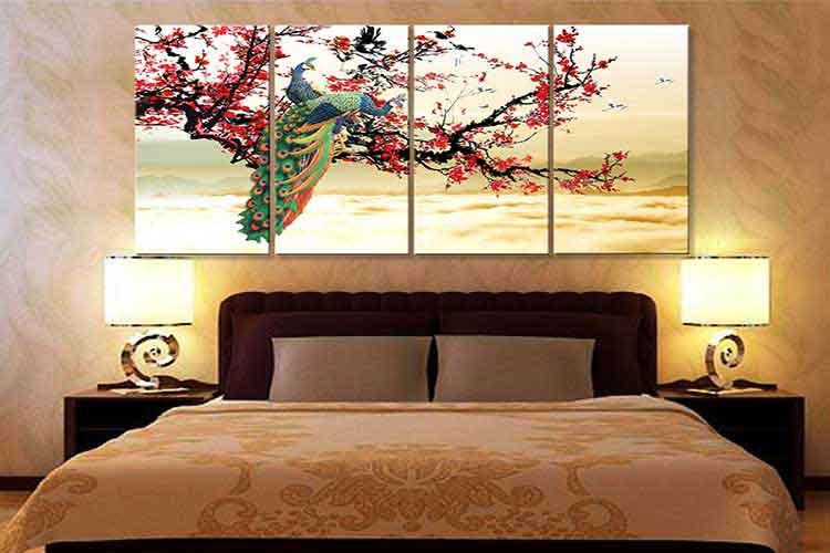 bí quyết chọn tranh treo tường phòng ngủ vợ chồng hợp phong thủy