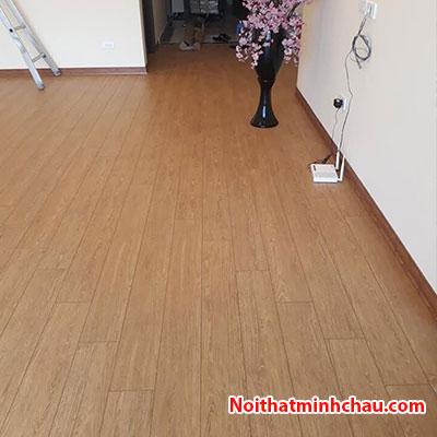 Sàn gỗ Rainforest IR-AS-520V 12mm hoàn thiện