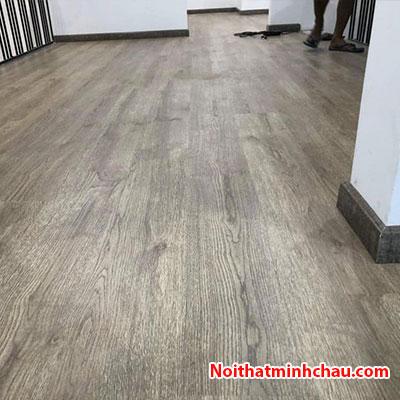sàn gỗ Smartwood HP815 8mm hoàn thiện