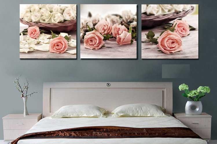 Tranh treo tường cho phòng ngủ đơn giản
