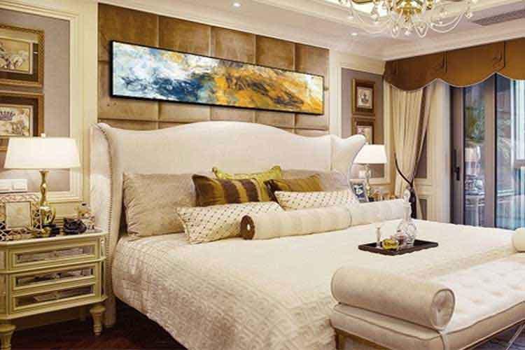 tranh treo tường phòng ngủ tân cổ điển