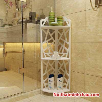 Kệ góc nhà vệ sinh hình mắt lưới MC09 3 tầng