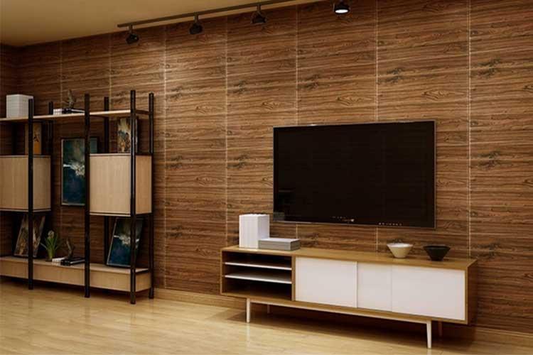 cấu tạo của xốp dán tường giả gỗ
