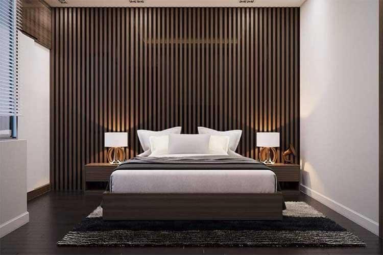 gỗ nhựa composite trong nhà