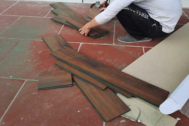 sàn gỗ bandi cốt xanh indonesia