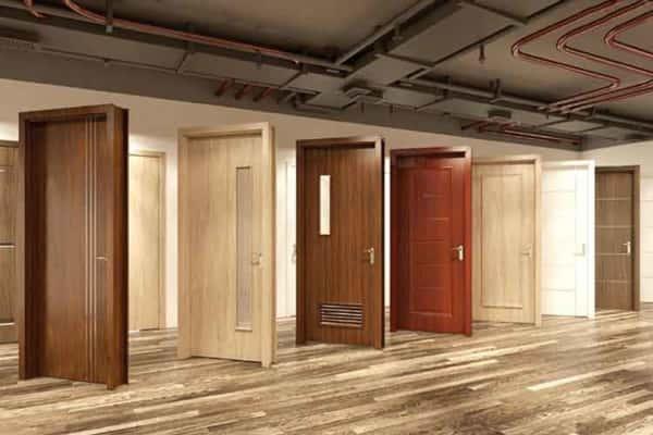 cửa gỗ nhựa composite giá bao nhiêu