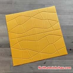 Xốp dán tường giả da kim cương MC03 màu vàng