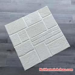 Xốp dán tường hoa văn bê tông MC24 màu trắng